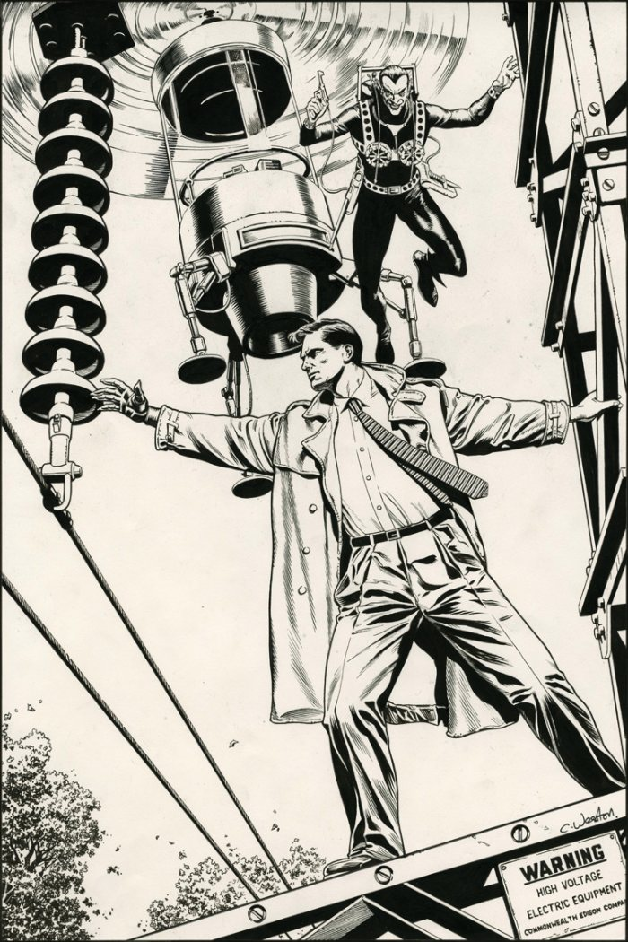 Chris Weston é um ilustrador alemão que trabalha há mais de 20 anos no mundo dos quadrinhos. Durante todos esses anos, ele trabalhou na indústria de quadrinhos britânica e americana. Batman, Quarteto Fantástico, Judge Dredd são alguns dos títulos que ele ilustrou. E você pode ver alguns de seus maravilhosos trabalhos logo abaixo.