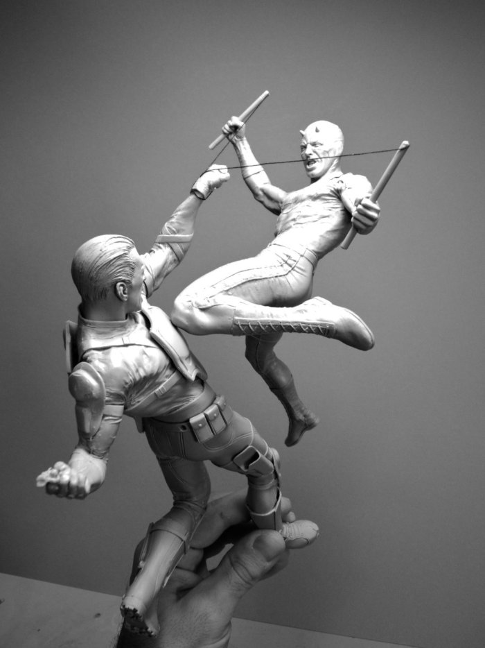 Aqui você vai ver as Esculturas de Adam Beane que surpreendem no número de detalhes em um tamanho tão reduzido, surpreendendo no realismo.
