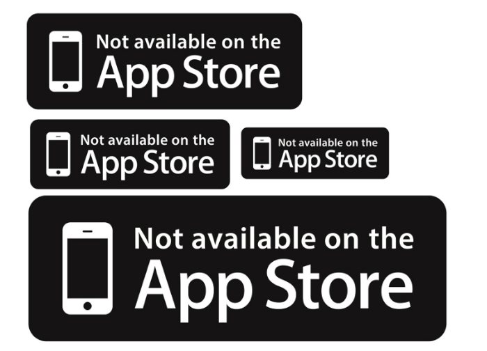 Not available on the App Store 05