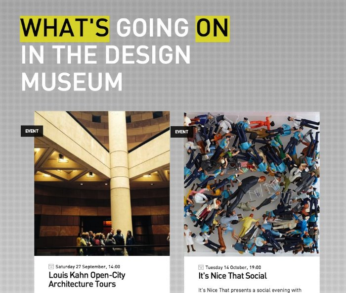 Design Museum Londres 02