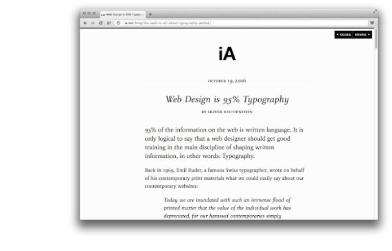 Web Design é 95% Tipografia via @pristinaorg