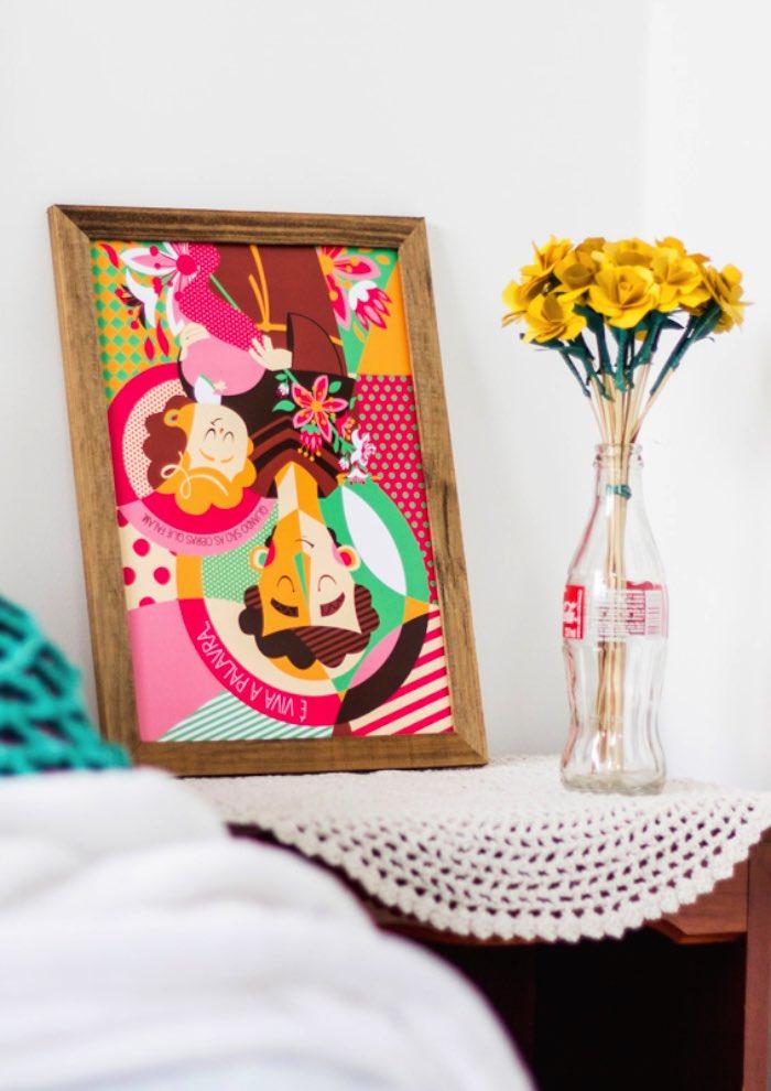 A Coleção Bença foi criada pela Cláudia Souza para a loja virtual que ela mantem para o estúdio Borogodó. Além de servir como uma válvula de escape criativa, este é projeto serve para agregar mais uma área de trabalho: decoração de ambientes.