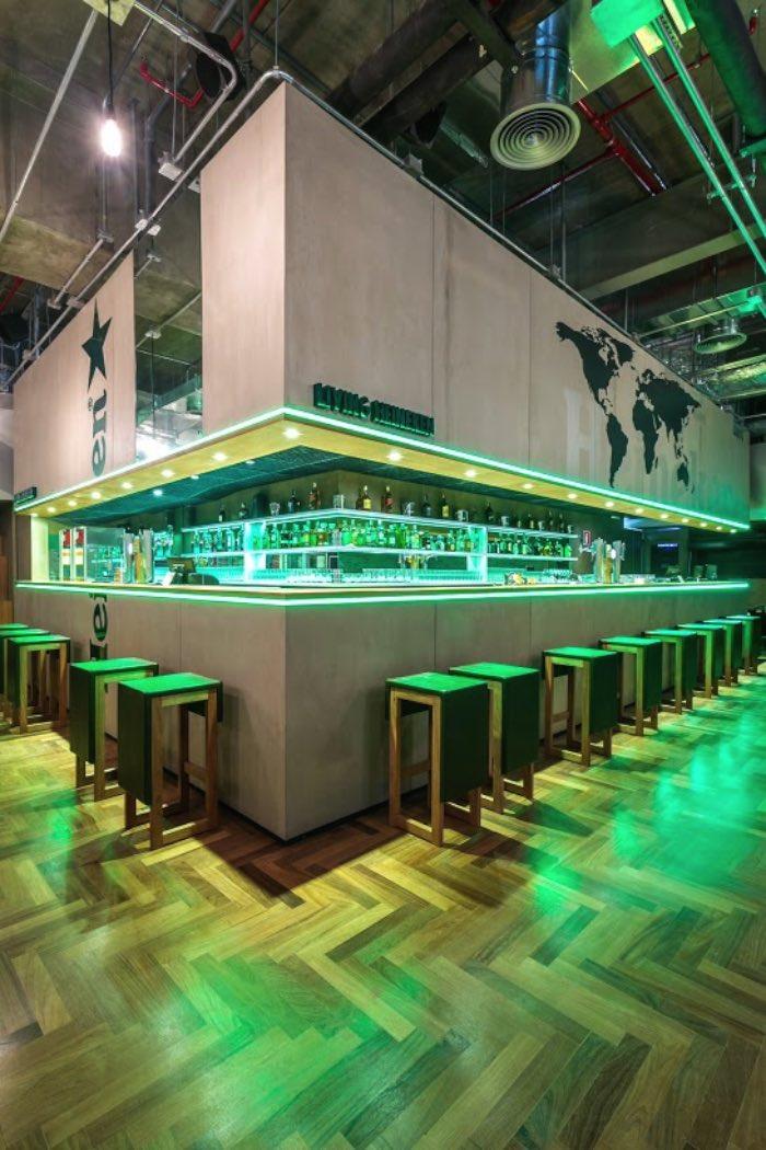 Heineken inaugura seu primeiro bar conceito no Brasil 03