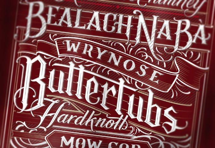 Mateusz Witczak tem 23 anos e é um desses designers gráficos especializados em lettering e tipografia. Ele aprendeu a criar os letterings que você vai ver nesse post sozinho e acredita que seu entusiasmo é o que o leva tão longe.