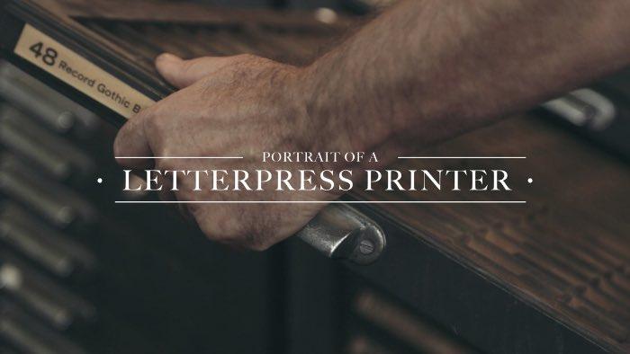 William Amer - O Retrato da Impressão em Letterpress Cover