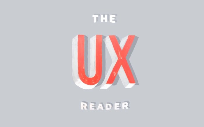 the UX Reader Home