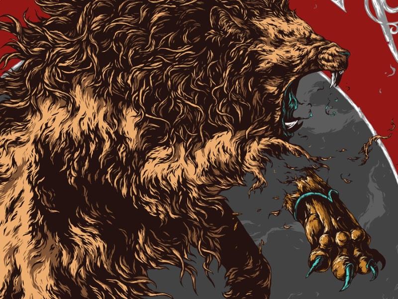 Game of Thrones por Ivan Belikov