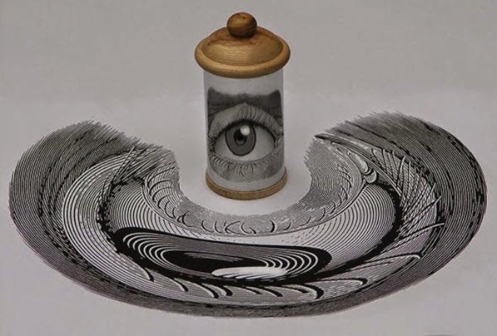 As imagens nesse post não são ilusões de ótica, elas são o trabalho do artista húngaro István Orosz. Ele cria ilustrações anamórficas que se expandem de um jeito que minha cabeça ainda não conseguiu entender.