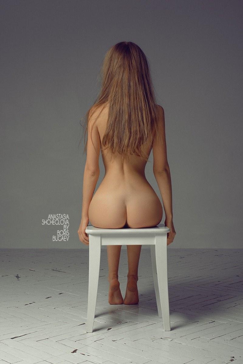 Boris Bugaev fotografa uma de suas musas: Anastasia Shcheglova