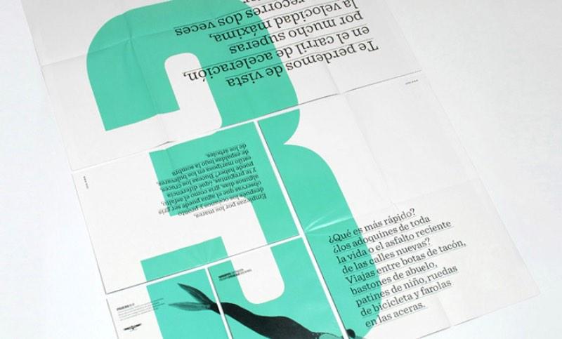 Tres Tipos Gráficos é um estúdio de design fundado em Madrid em 2004. Desde então, eles já trabalharam com vários projetos de comunicação. De catálogos até identidades visuais e web design passando por design para eventos, embalagens e aplicativos digitais.