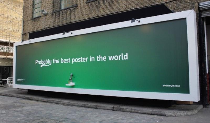 O Melhor Outdoor do Mundo é da Carlsberg