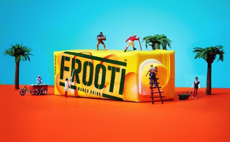 O relançamento visual da Frooti, uma das marcas de suco mais antigas e amadas da Índia
