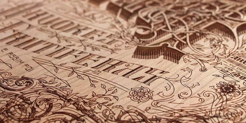 Kevin Cantrell é um designer, diretor de arte e artista de lettering. E estou fazendo esse post aqui para mostrar como ele trabalha com lettering de um jeito especial