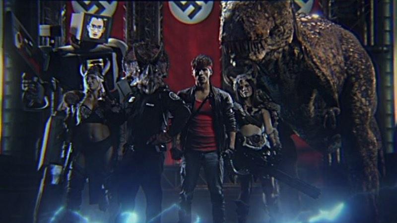 David Hasselhoff, Hitler, Soldados Nazistas, Vikings com metralhadoras, Thor, dinossauros e sei lá mais o que... Kung Fury já pode ser considerado o filme do ano só por conseguir inserir todos esses elementos no mesmo video.