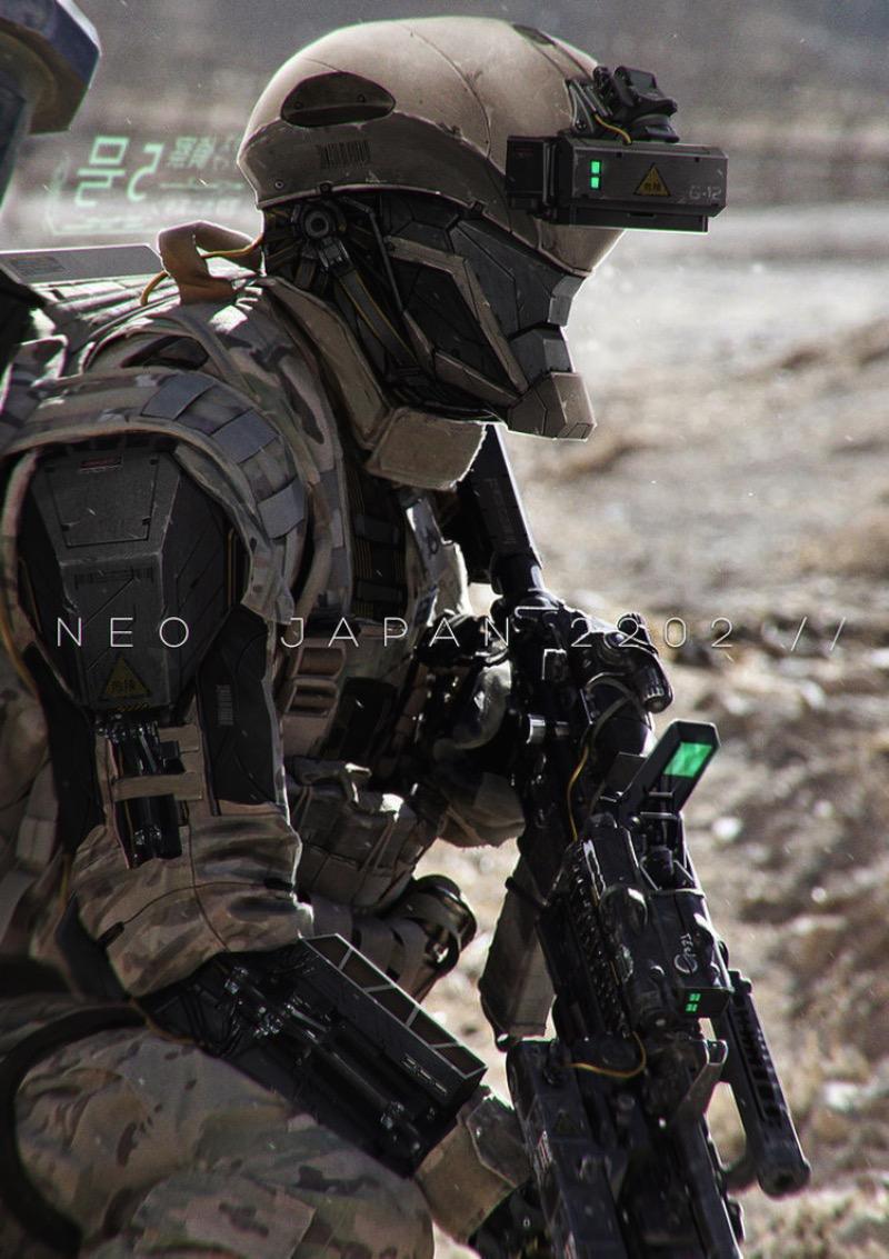« Neo Japan 2202 » du concept artist Johnson Ting | Design