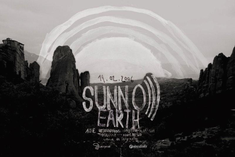 Se você gosta de posters de música, precisa ver o portfólio do Romain Barbot repleto de trabalhos para bandas como Godflesh e Sunn O))).