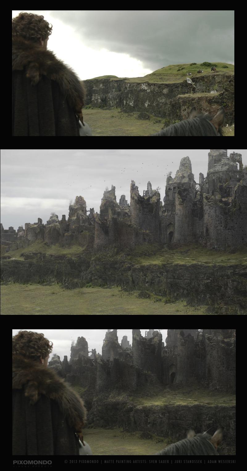 Sven Sauer mostra como que ajudou a criar o mundo medieval de Game of Thrones. De castelos e cenários medievais, passando por todo o resto.