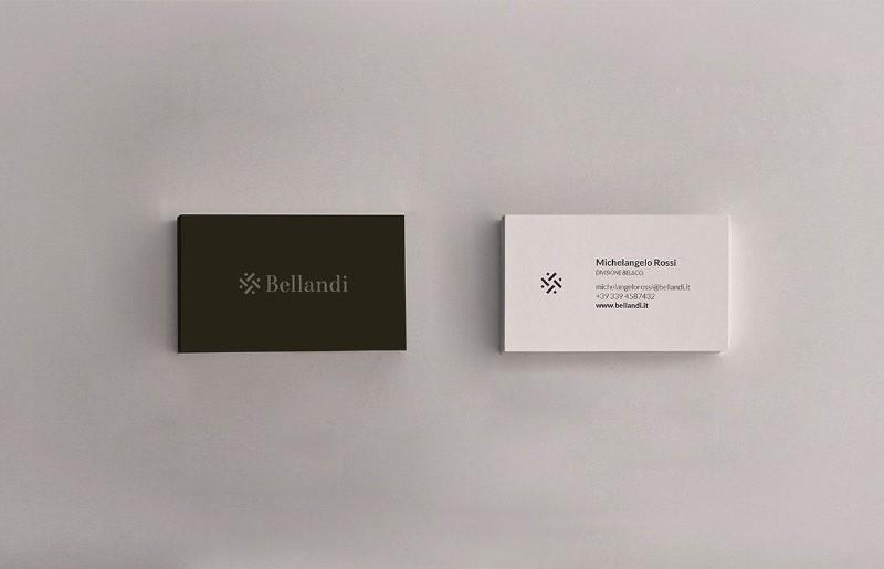 Mattia Compagnucci é um designer italiano que vive e trabalha aqui em Berlin. Me deparei com o portfólio dele tem algum tempo mas, quando vi o seu trabalho de identidade visual para a Bellandi S.p.A., sabia que eu publicar esse trabalho aqui. Bellandi S.p.A. é uma empresa que trabalha na produção de tecidos e os valores da empresa são de competência, confiança e inovação. Pensando nisso, Mattia Compagnucci criou a identidade visual abaixo.
