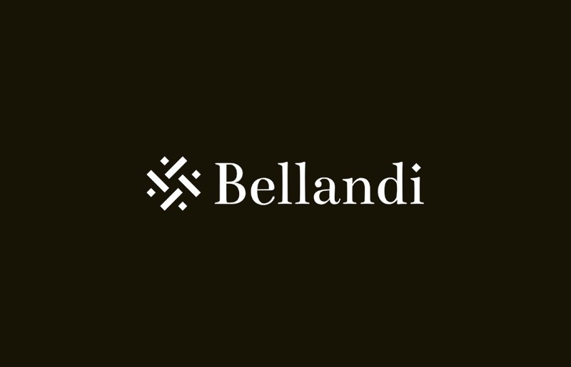 Mattia Compagnucci é o nome do designer italiano responsável pela criação da identidade visual da Bellandi