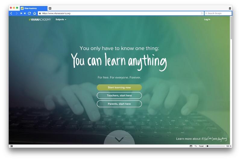 O que fazer depois de estudar design - Conheça o Khan Academy