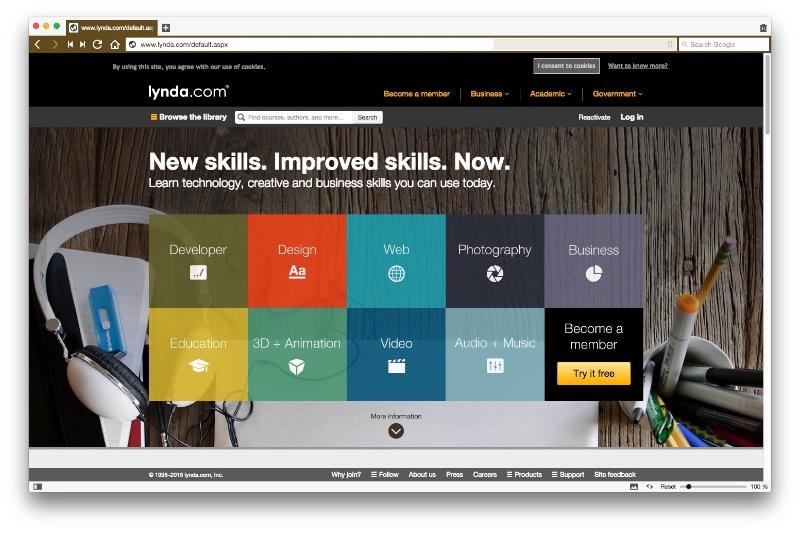 O que fazer depois de estudar design - Conheça o lynda.com