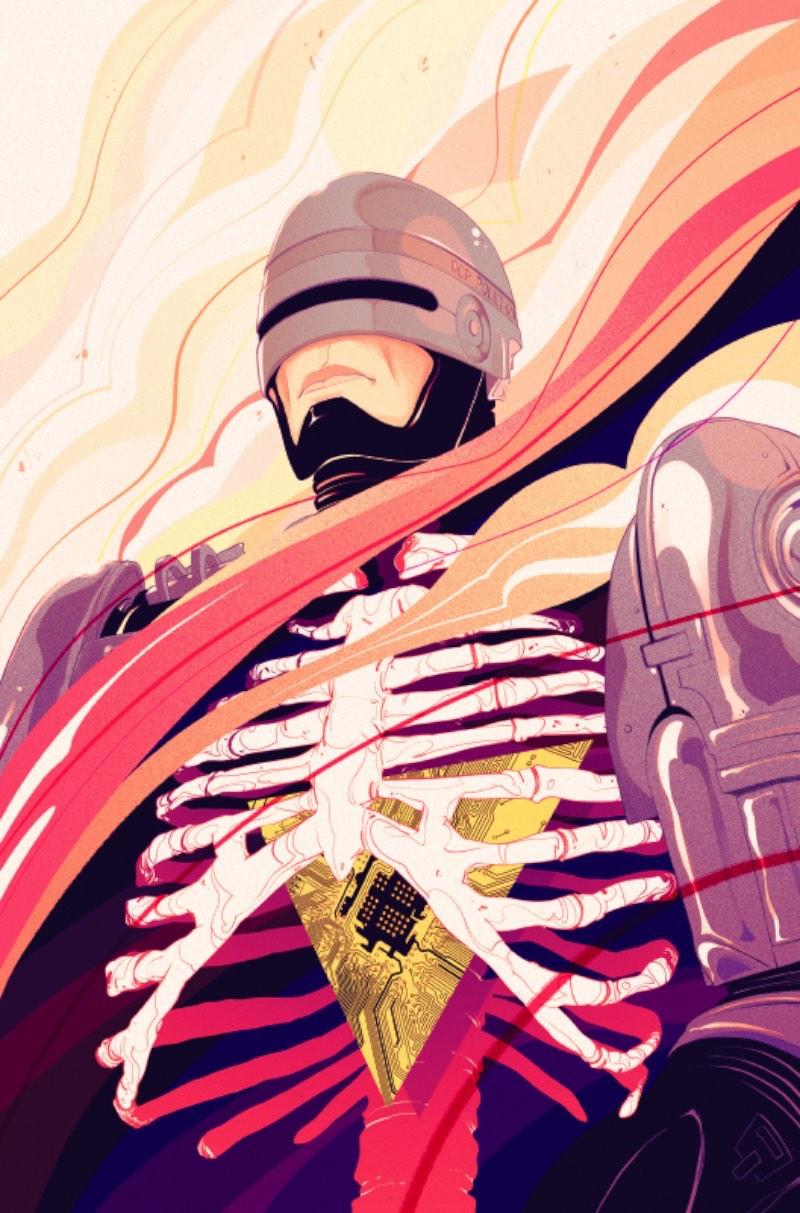 Goni Montes de junta com Alex Galer e Ian Brill do BOOM! Studios para recriar a história do Robocop de um jeito que você nunca viu antes.