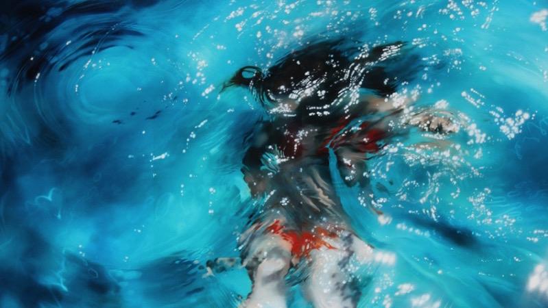Sarah Harvey e suas Pinturas Sub Aquaticas