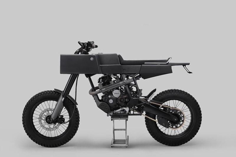 T 005 Cross - uma moto bem quadrada