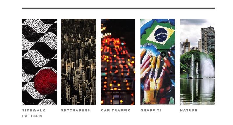 Rebranding São Paulo - Todo mundo sabe que a paisagem de São Paulo é repleta de cinza, concreto e edifícios. Todo mundo sabe que essa selva de pedra paulistana também é cheia de diversidade cultural e étnica. Por que não mostrar essa São Paulo através de um rebranding da cidade? Foi isso que o designer Haran Amorim resolveu fazer nessa interessante proposta que ele publicou no Behance. No material que ele criou, você pode ver como esse novo branding para São Paulo mostra o caracter multiracial da cidade, misturando o clássico e o moderno e ligando tudo isso ao futuro da maior cidade da América.