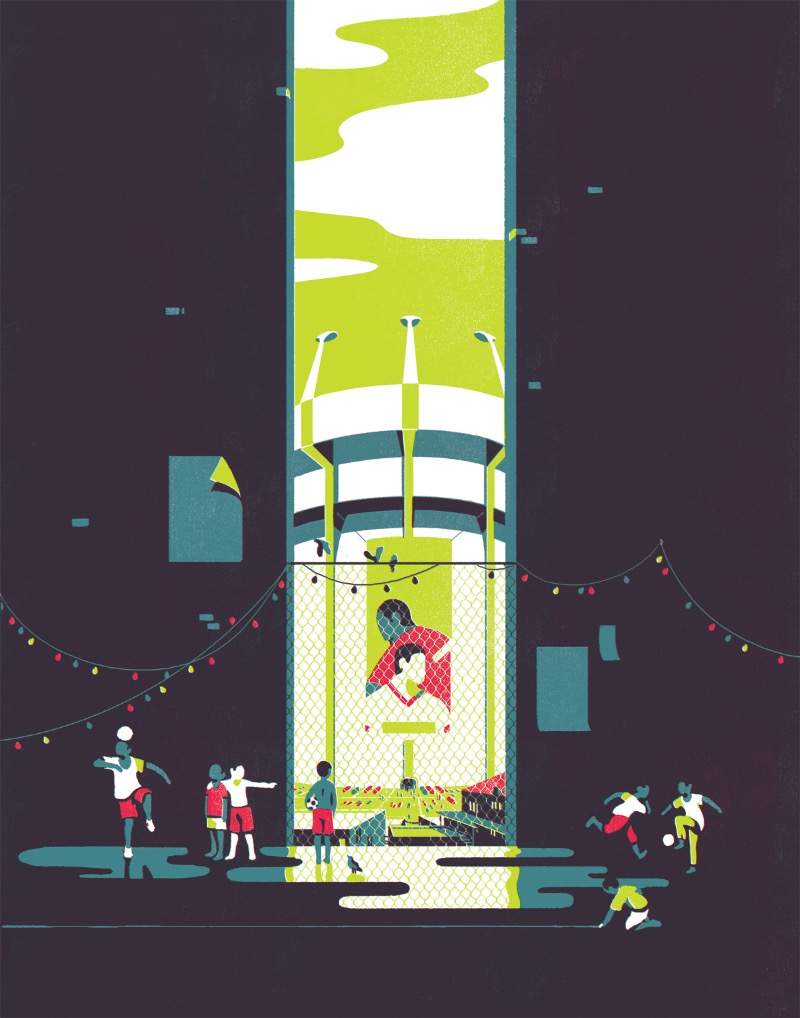 Tom Haugomat mora em Paris e trabalha como ilustrador, criando obras que usam e abusam do espaço negativo para visualizar elementos de um jeito um pouco diferente. Foi assim que eu tentei descrever o trabalho dele na primeira vez que publiquei seu portfólio por aqui.