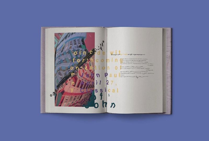 Nina Kazanova é uma designer gráfica russa nascida em Vladivostok. Ela estudou Artes na Universidade de São Petersburgo e usou o que aprendeu por lá para criar um portfólio de design para lá de especial.
