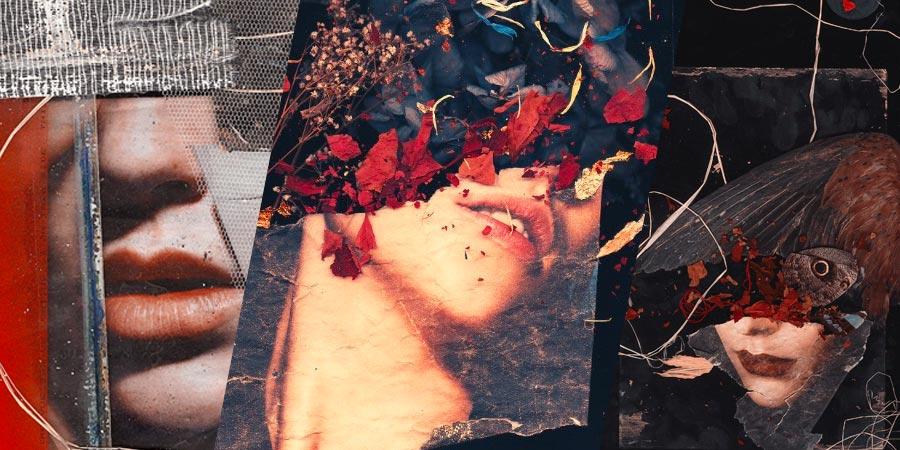É fácil se perder nos detalhes das colagens e pinturas de John Leigh, mais conhecido online pelo seu pseudônimo Karborn. O artista baseado em Londres trabalha misturando elementos orgânicos com processos digitais e cria colagens cheias de detalhes e histórias.