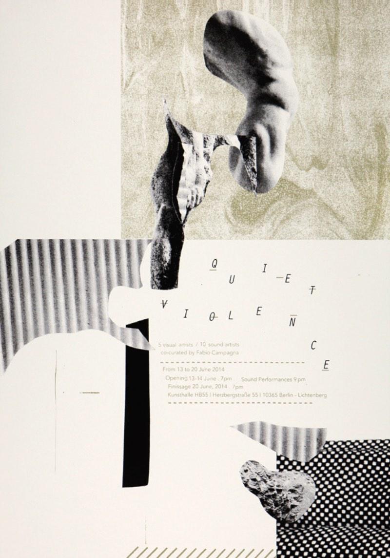 Damien Tran é um designer com um estilo abstrato de ilustração e design que me chamou a atenção no momento que me deparei com seu portfólio. Seus posters de shows misturam colagem, uma estética simples e bem DIY. Bem ao contrário do que vejo todos os dias pelas ruas aqui de Berlin.