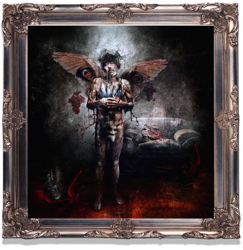 Seth Siro Anton é o pseudônimo que o artista grego Spiros Antoniou usa quando assina seu portfólio fenomenal que mistura colagens digitais e técnicas mistas, tudo inspirado por muita música.