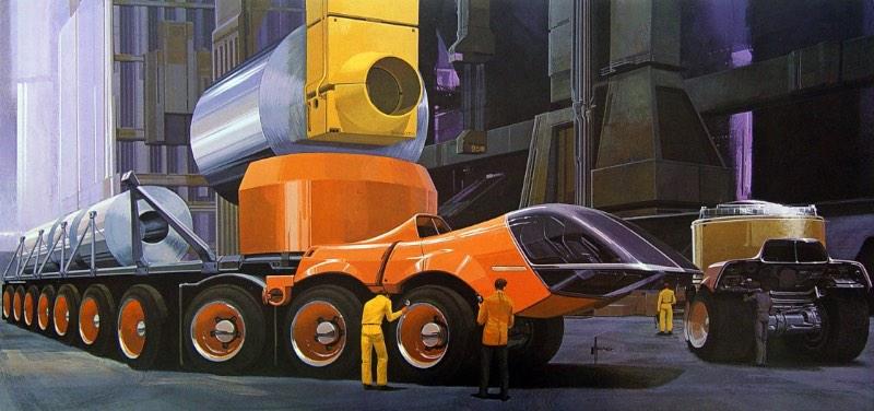 Syd Mead é famoso pelo seu trabalho de ilustrações futurísticas que marcaram filmes como Blade Runner, Aliens e Tron. Mas, esse artigo aqui não é para falar sobre os filmes que ele ajudou a fazer. Aqui a gente vai mostrar um pouco da capacidade ilustrativa dele.