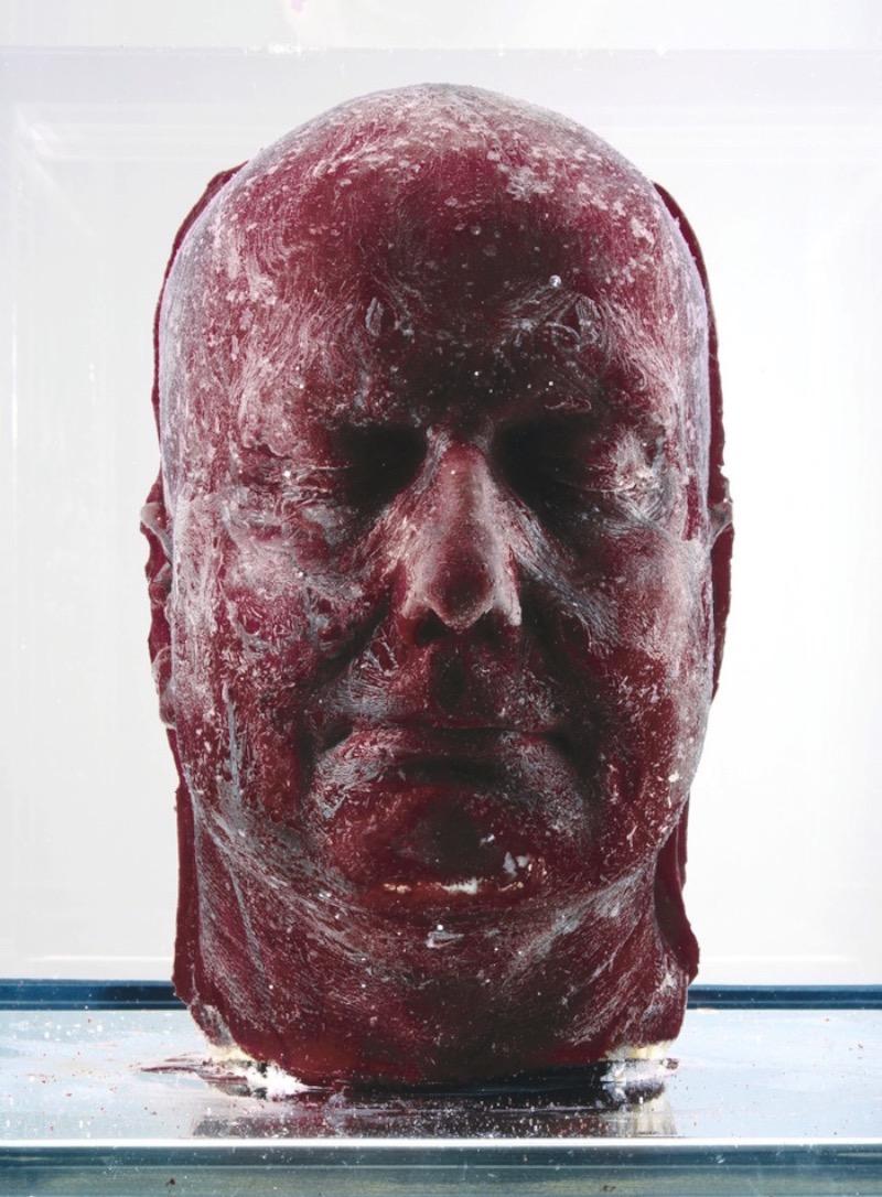 Para sua série de esculturas conhecida como Self, o artista Marc Quinn usa do seu próprio sangue para criar auto-retratos. O processo parece ser simples mas, mesmo assim é meio bizarro. Primeiro ele faz um molde da sua cabeça e mistura silicone com cerca de 5 litros do seu próprio sangue e pronto. Essa série de esculturas de sangue começou a ser feita em 1991 e, cada 5 anos, podemos esperar uma nova escultura.