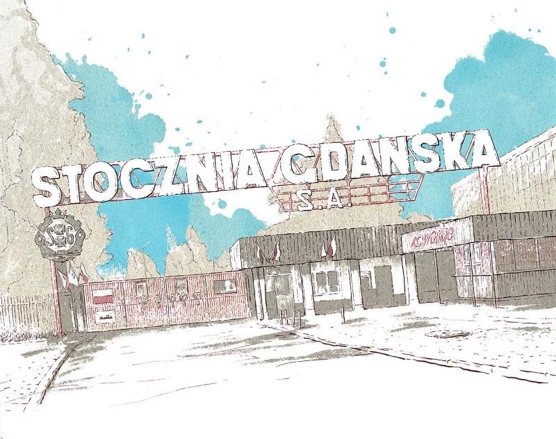 Bartosz Kosowski é o nome do ilustrador responsável pelo Estúdio Blackbird Illustration, lá de Lodz, na Polônia. Como você vai ver logo abaixo, grande parte do trabalho do estúdio é voltado para ilustração editorial e para retratos. E esse trabalho é feito para clientes como o The New Yorker, The New Republic, Gazeta Wyborcza e Newsweek.