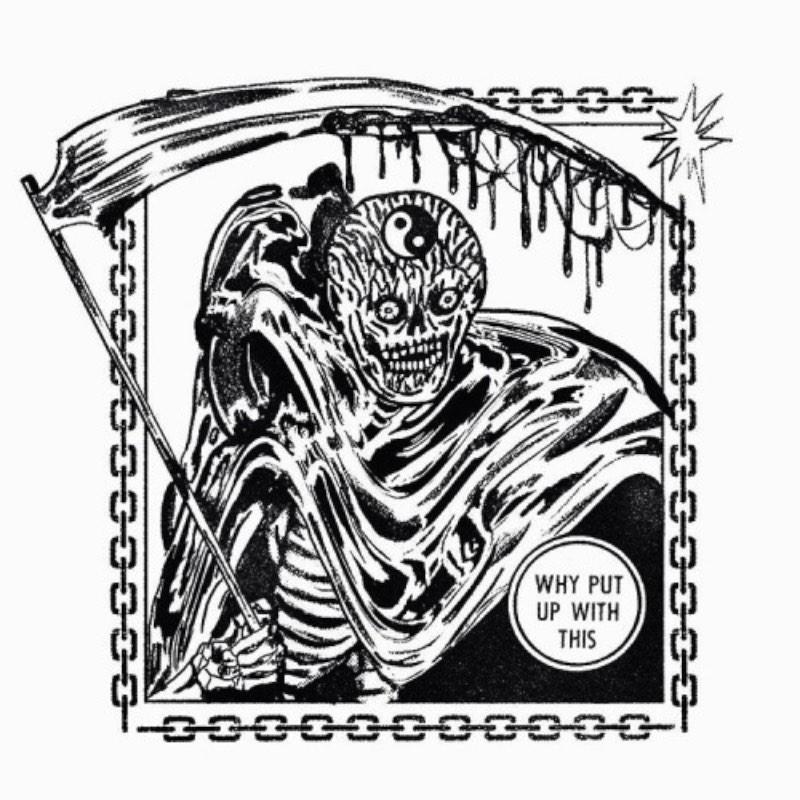 Gosto das ilustrações do Bill Connors por que elas me lembram as ilustrações que eu via em adesivos de skate e nos zines de hardcore e metal do início dos anos 90. Os desenhos que ele tem em seu portfólio me transportam direto para essa época cheia de tipografias distorcidas, monstros e muito sangue.