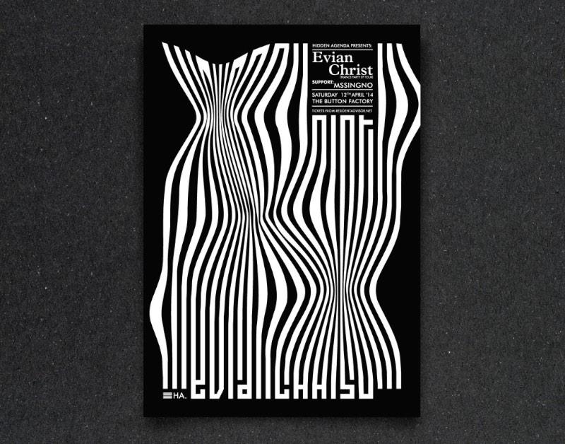Gianni Clifford é um designer gráfico baseado em Dublin, na Irlanda. Seu portfólio é repleto de bons trabalhos voltados para a internet e design gráfico mas estou aqui publicando o trabalho do Gianni Clifford por culpa do seus flyers tipográficos.
