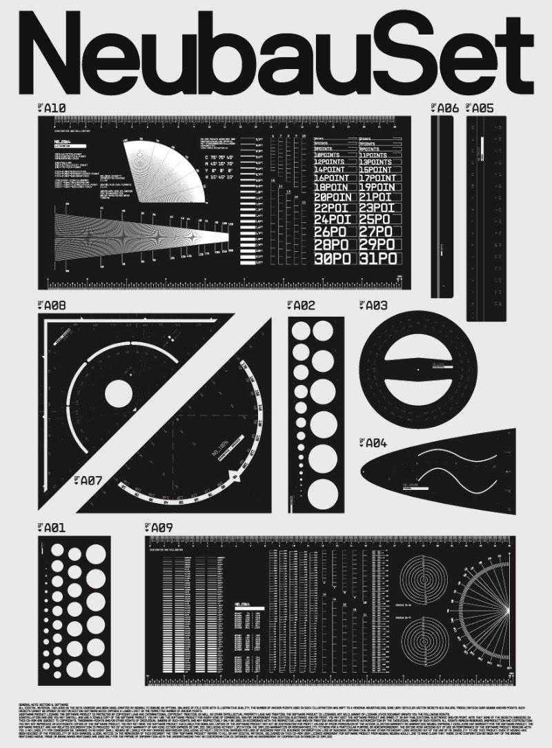 É uma estranha experiência navegar pelo portfólio de design gráfico do estúdio alemão Neubau. E isso acontece por que, a maioria do trabalho que você vai ver por lá é monocromático, criado usando fontes não serifadas e linhas descaradamente limpas. Algumas pessoas poderiam chamar esse portfólio de tedioso mas eu acredito que mostra algo diferente.