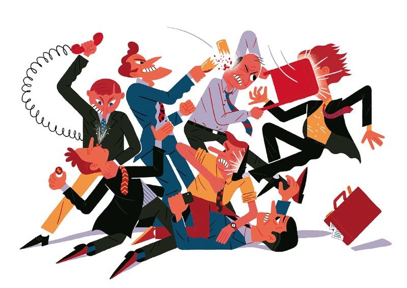 Mario de Santiago é um ilustrador nascido na capital espanhola em 1992 e que, hoje em dia, trabalha em Londres como freelancer. Suas ilustrações misturam um pouco do seu amor por desenhos animados e muito humor.