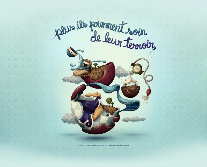 Leandro Lima é um desses ilustradores com um estilo único. Seu trabalho mistura elementos quase surreais com uma estética que, algumas vezes me lembra algo feito por crianças. Além disso, suas técnicas de conceitualização e finalização são de humilhar muita gente.