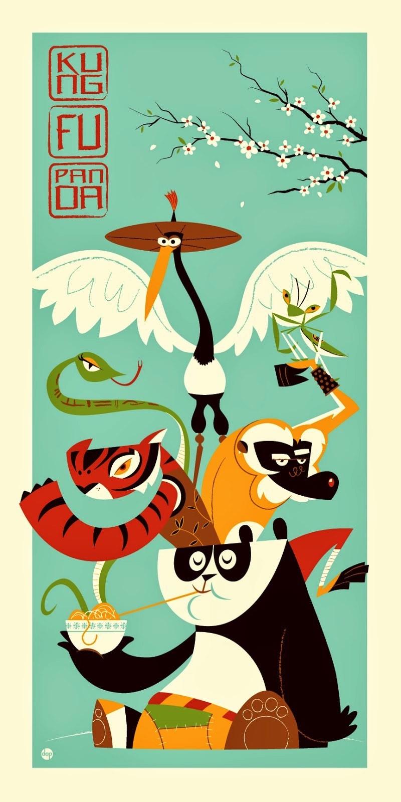 Dave Perillo é um ilustrador e artista nascido em 1974 e cujo trabalho é muito influenciado pela cultura pop que ele absorveu durante toda sua vida. Mas, alguns elementos culturais aparecem mais vezes no seu trabalho. E, entre todos esses elementos, precisamos mencionar a influência visual de Jim Henson, Hanna Barbera, The Twilight Zone, Alfred Hitchcock, Charles Schultz, Jim Flora, Ray Harryhausen, Roy Lichtenstein e os posters de ficção científica da década de cinquenta.
