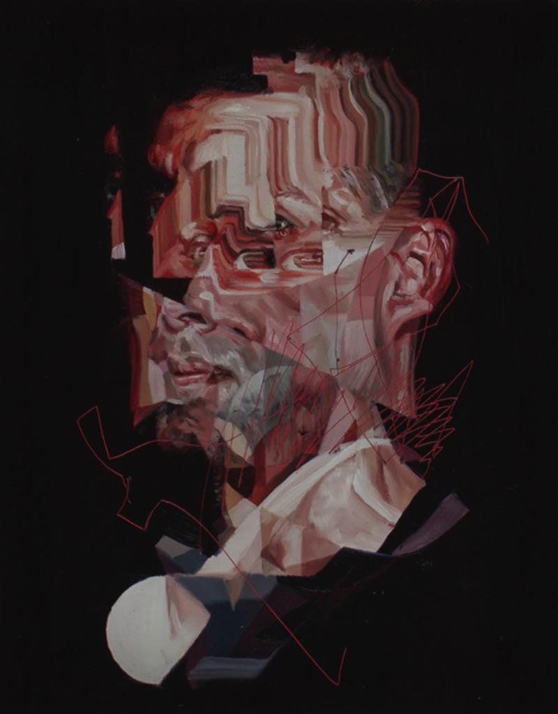 Drew Young é um artista canadense que cria pinturas que usam do visual do glitch e da colagem de um jeito bem interessante. Navegar pelo portfólio dele é uma experiência bem interessante já que dá para perceber muito bem as fases e mudanças no estilo desse artista de British Columbia.