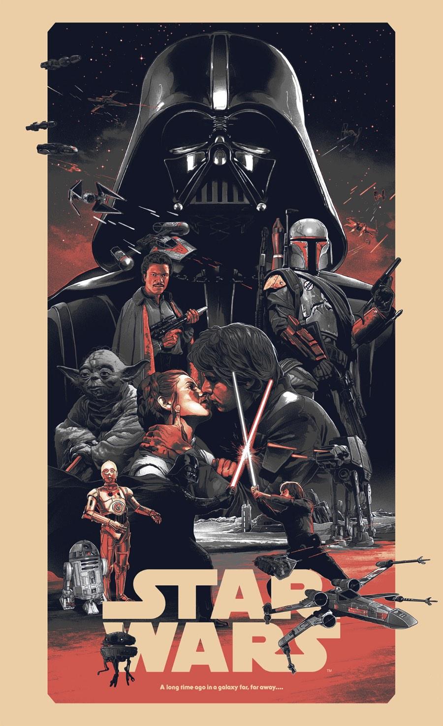 Se você já acompanha o Pristina.org tem um tempo, sabe que somos grandes fãs de Star Wars e temos alguns posts aqui para provar isso. E, assim que vimos o material que Grzegorz Domaradzki criou para a Bottleneck Gallery, sabíamos que esse conteúdo viria para o site.