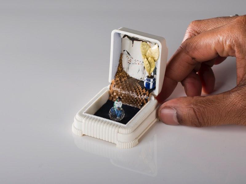 Talwst e seus Dioramas em Caixas de Anel
