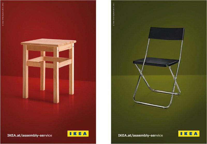 #IKEArethink - Em outubro de 2015, a ICON Magazine convidou os diretores de criação da Freytag Anderson, Daniel Freytag e Greig Anderson, para contribuir para a edição da revista chamada Rethink. E a ideia dessa edição da revista era repensar o logo de uma marca que eles acreditam que precisa ser revisto. Foi assim que eles criaram um novo logo para IKEA.