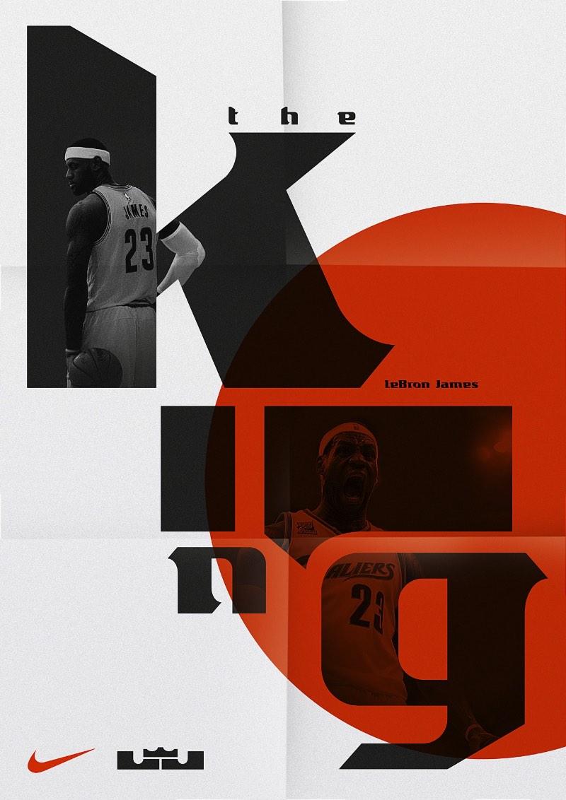 Parece que a Sawdust não ficou por ai. Afinal os designers por trás da Sawdust, Jonathan Quainton e Rob Gonzalez, acabaram de lançar uma fonte criada especialmente para LeBron James, uma das maiores estrelas do basquete americano nos dias de hoje.