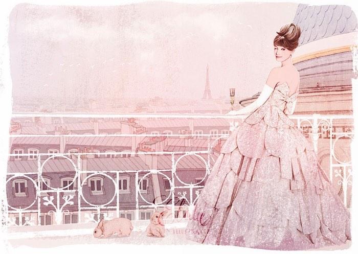 Ëlodie é como é conhecida a ilustradora de moda que, desde 2010, vem mostrando ao mundo seu estilo poético e realista de ilustração de moda. Seu trabalho é feito usando técnicas tradicionais e ela adora experimentar com novas ideais para inserir uma nova alma em seu trabalho.