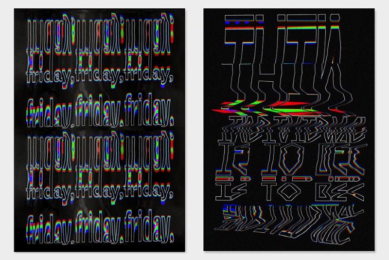 O designer espanhol Ruben Montero resolveu distorcer alguns experimentos tipográficos usando um scanner e um pouco de movimento. Foi assim que surgiu seu projeto de tipografia distorcida chamado Scanmania. O designer usou de frases e textos literários para brincar e distorcer imagens. Depois disso, ele manipulava as imagens usando um scanner e, no final, surgiram alguns posters com os seus experimentos favoritos.